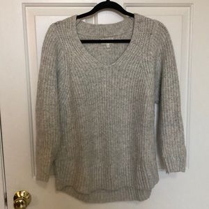Chunky Knit Pullover Sweater